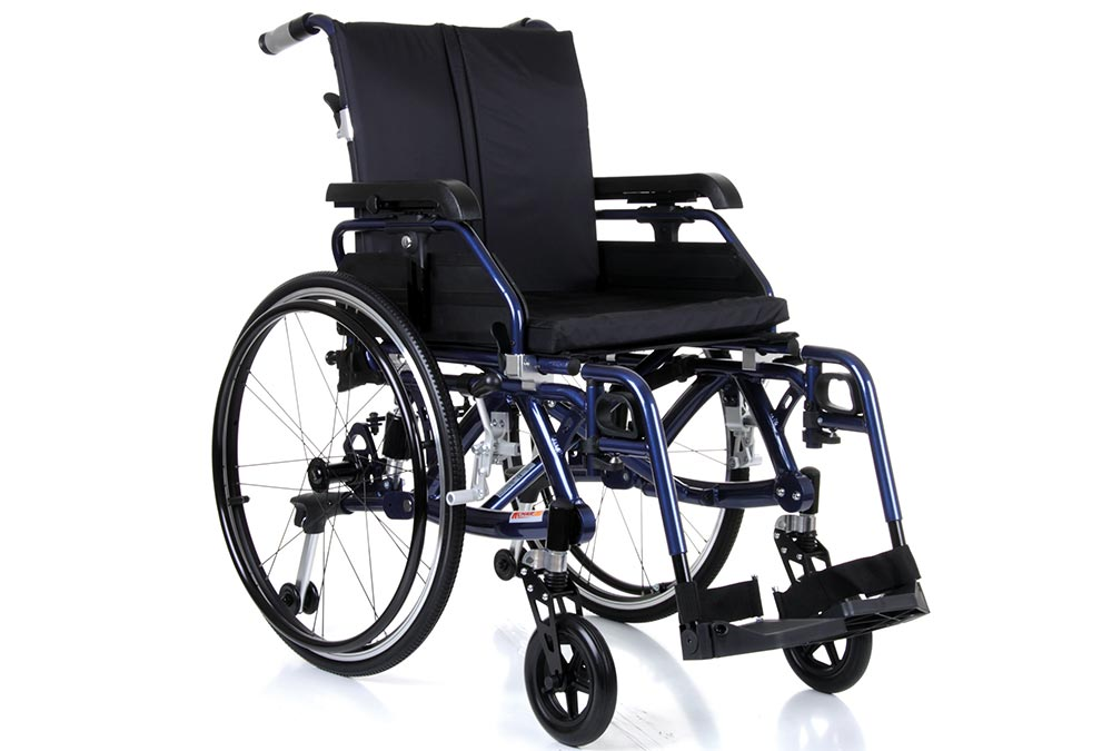 Ride about in comfort with a Suspension Wheelchair