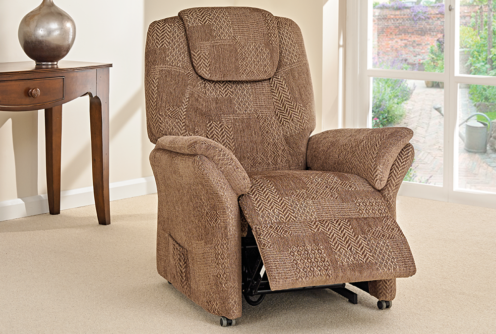 A range of Fabric Riser Recliners