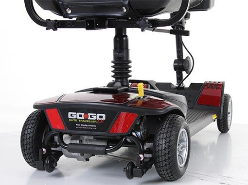 Pride Go Go Elite Traveller 4 Scooter Rear Wheels